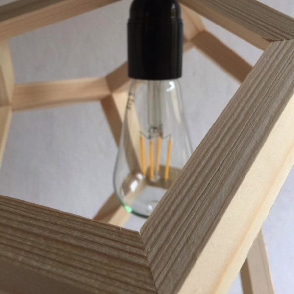 Albiorix dodecahedron pendant lamp