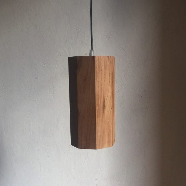 Prometeo octagonal prism spot lamp