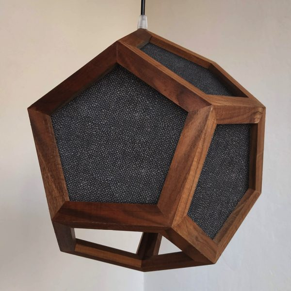 Albiorix Fabric dodecahedron pendant lamp