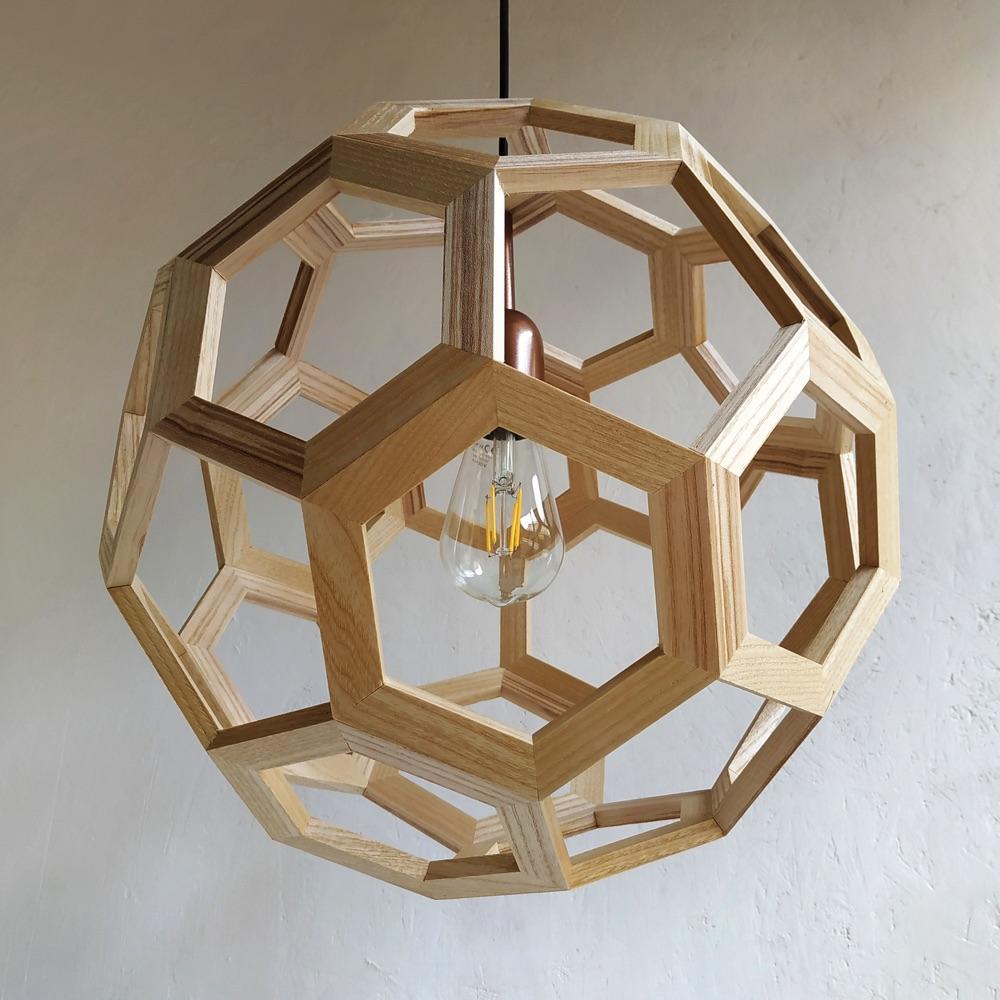 Atlante Truncated Icosahedron pendant lamp