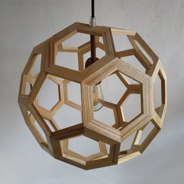 Atlante Truncated Icosahedron pendant lamp