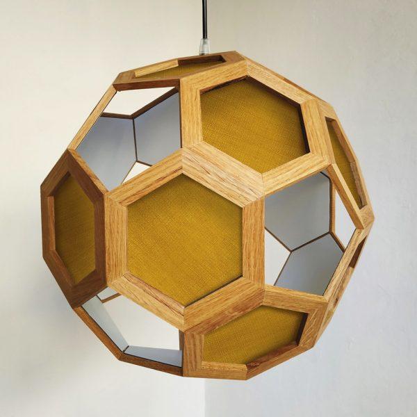 Atlante archimedean solid pendant lamp