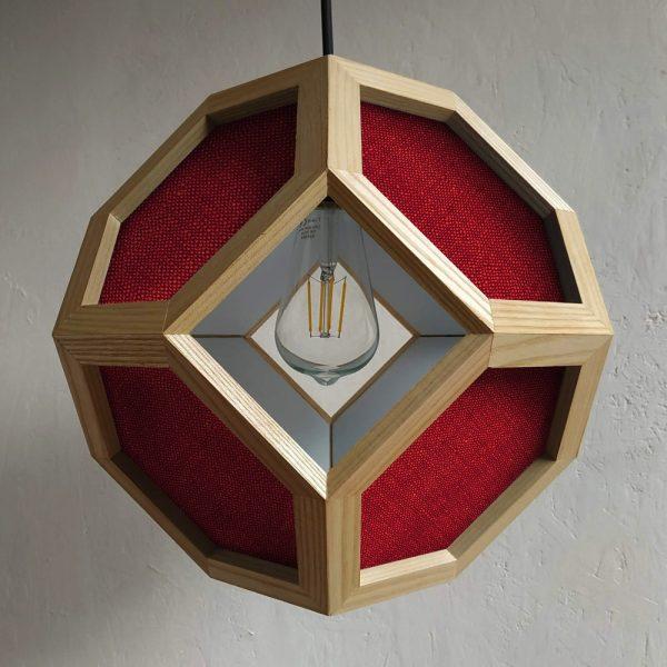 Ganimede Fabric pendant lamp
