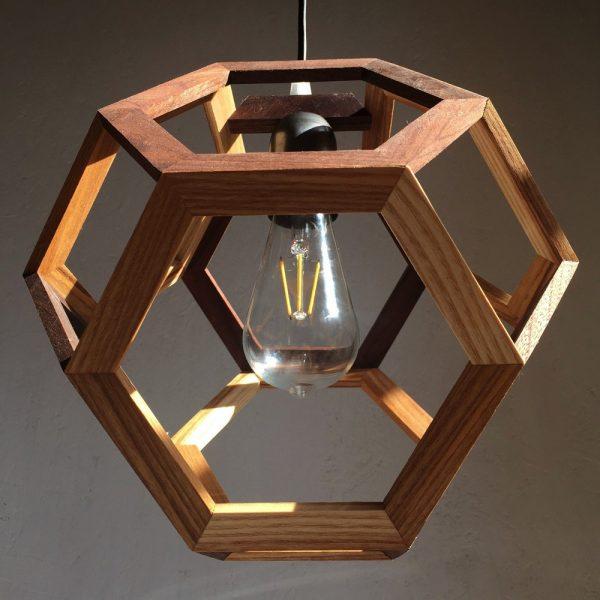 Ganimede Light truncated octahedron pendant lamp