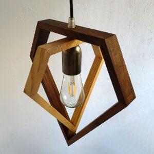 Giano diamond pendant lamp