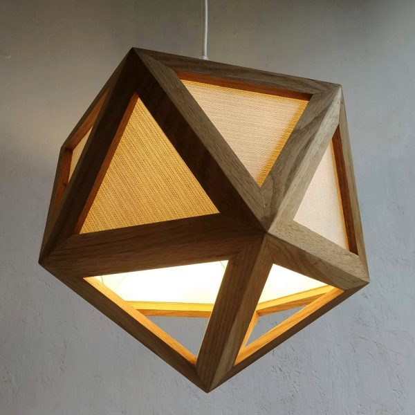 Megaclite fabric pendant lamp