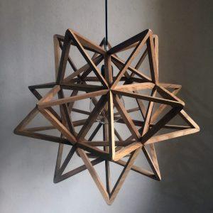 Pandora Stellated Icosahedron pendant lamp