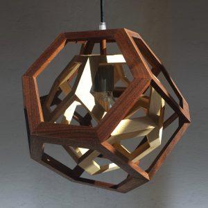 Trapped Pendant Lamp Fulcro Firenze
